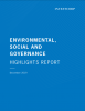 ESG Highlights Report 2019